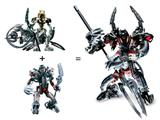 3287 LEGO Bionicle Warriors Takutanuva