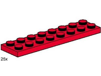 *NEW* 50 Pieces Lego BRICK 2X4 RED *BULK* 3462