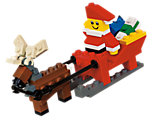 40010 LEGO Father Christmas with Sledge Building Set