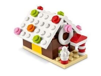 LEGO Gingerbread House Mini Model Build Polybag Set 40105