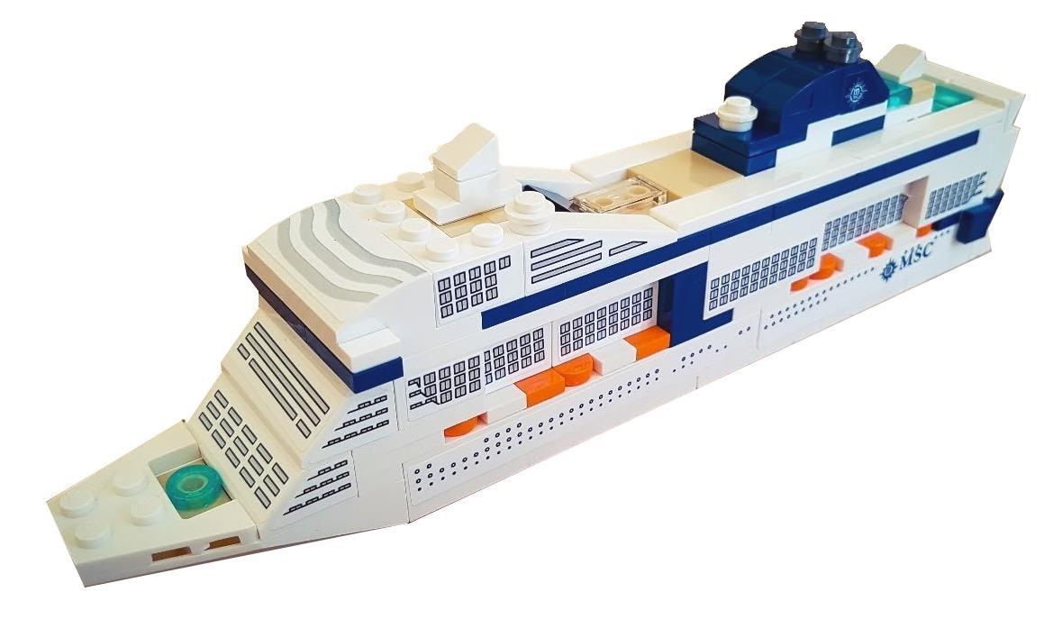 Nachfolger von 40227 Neu und originalverpackt MSC Cruises Lego 40318