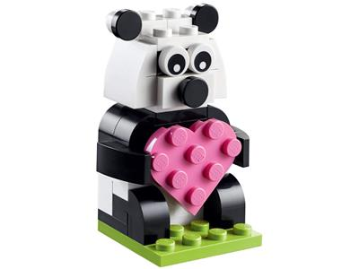 40396 LEGO Monthly Mini Model Build Valentine Panda