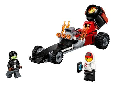 40408 LEGO Hidden Side Drag Racer