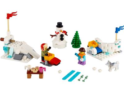 40424 LEGO Christmas Winter Snowball Fight