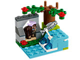 41046 LEGO Friends Animals Series 5 Brown Bear's River