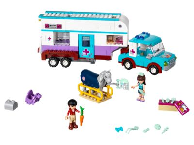41125 LEGO Friends Horse Vet Trailer