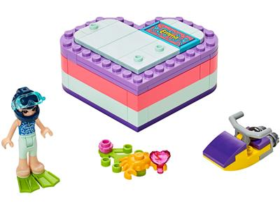 41385 LEGO Friends Emma's Summer Heart Box