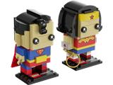 41490 LEGO BrickHeadz DC Comics Super Heroes San Diego Comic-Con Superman & Wonder Woman