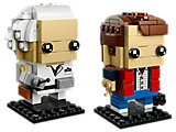 41611 LEGO BrickHeadz Marty McFly & Doc Brown