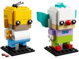 41632 LEGO BrickHeadz Homer Simpson & Krusty the Clown