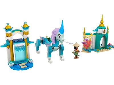 LEGO 43184 Disney Raya and the Last Dragon Raya and Sisu ...