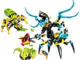 44029 LEGO HERO Factory Queen Beast vs. Furno, Evo & Stormer