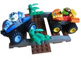 4595 LEGO Drome Racers Zero Tornado & Hot Rock