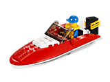 4641 LEGO City Harbour Speedboat