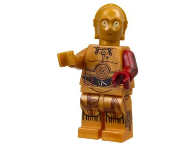 NEW LEGO 5002948 Star Wars C-3PO Mini Figure Red Arm Factory Sealed Polybag 2015