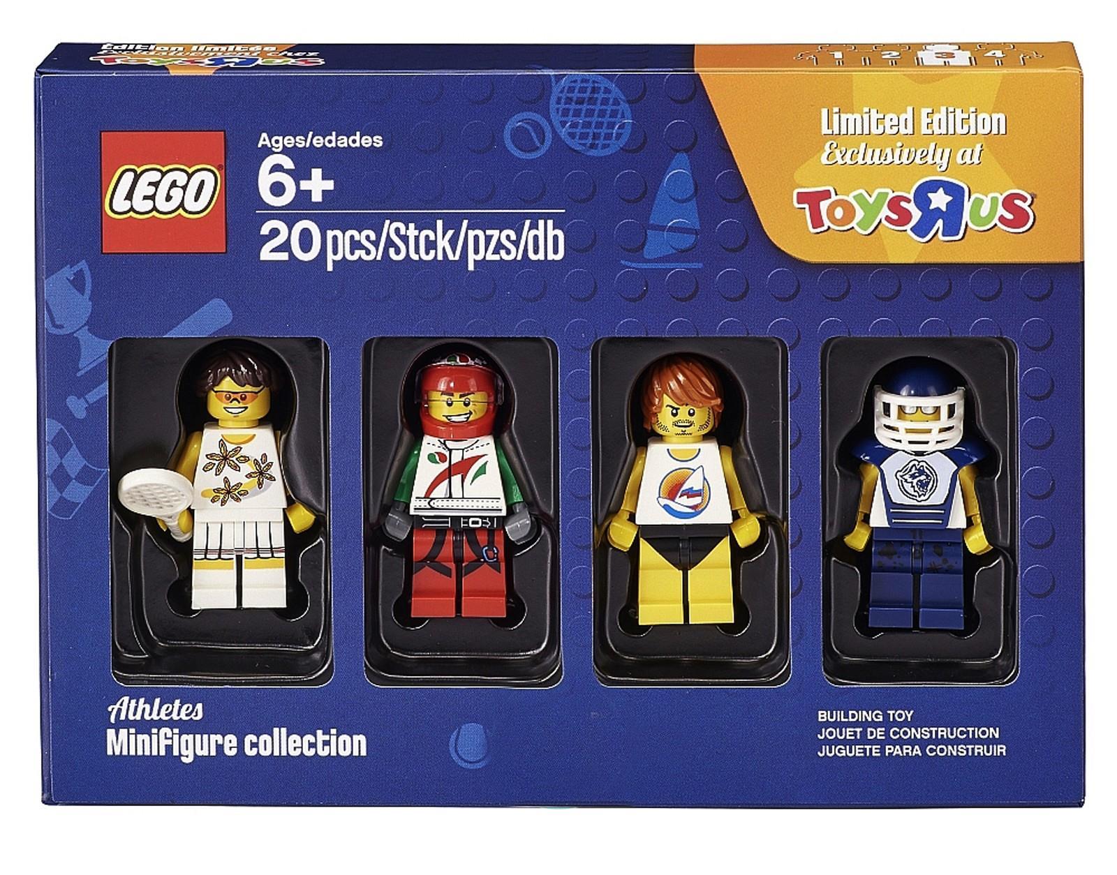 Lego Bricktober Warriors Minifigures ToysRUs Exclusive NEW 5004422