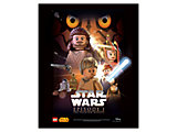5004882 LEGO Star Wars episode I Poster