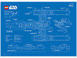 5005624 LEGO Y-Wing Blueprint pPoster