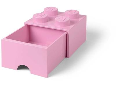 5005712 LEGO 4 Stud Light Purple Storage Brick Drawer