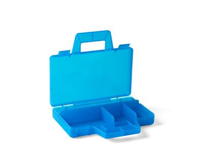 5005890 LEGO Transparent Blue Sorting Case To Go