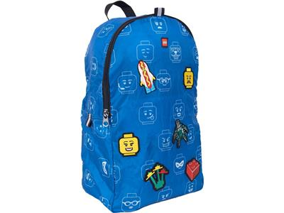 5006360 LEGO Minifigure Packable Patch Backpack