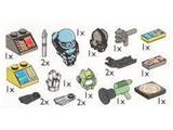 5382 LEGO Aquazone Accessories