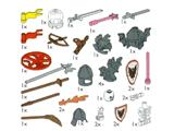 5383 LEGO Castle Accessories