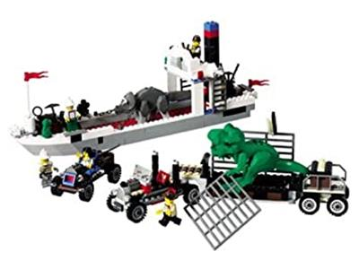 5975 LEGO Adventurers Dino Island T-Rex Transport