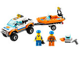 60012 LEGO City Coast Guard 4x4 & Diving Boat