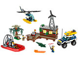 60068 LEGO City Swamp Police Crooks' Hideout