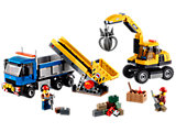 60075 LEGO City Construction Excavator and Truck