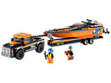 60085 LEGO City Traffic 4x4 with Powerboat