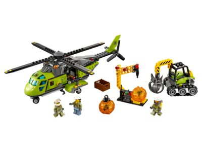 60123 LEGO City Volcano Supply Helicopter