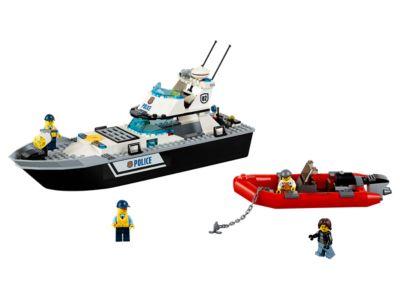 LEGO City Police Patrol Boat 60129 Brand New  200 bricks