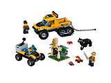 60159 LEGO City Jungle Halftrack Mission