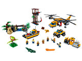 60162 LEGO City Jungle Air Drop Helicopter