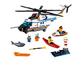 60166 LEGO City Coast Guard Heavy-Duty Rescue Helicopter