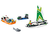 60168 LEGO City Coast Guard Sailboat Rescue