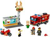 60214 LEGO City Burger Bar Fire Rescue