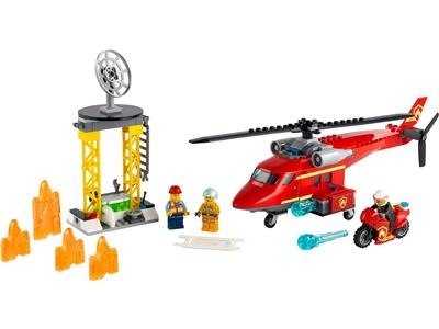 60281 LEGO City Fire Rescue Helicopter