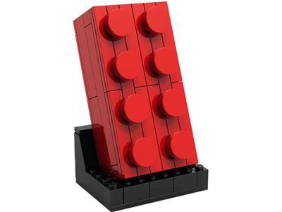 6313287 LEGO Buildable 2x4 Red Brick