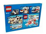 66116 LEGO City Emergency Service Vehicles