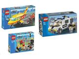 66307 LEGO City Super Pack 3 in 1