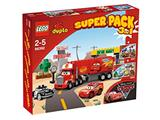66392 LEGO Duplo Cars Super Pack 3-in-1