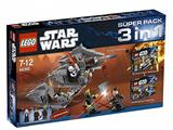66395 LEGO Star Wars Super Pack 3 in 1