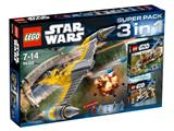 66396 LEGO Star Wars Super Pack 3 in 1