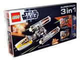 66411 LEGO Star Wars Super Pack 3-in-1
