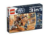 66431 LEGO Star Wars Super Pack 3-in-1