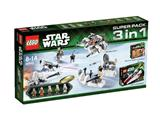 66449 LEGO Star Wars Super Pack 3-in-1
