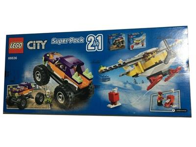 66636 LEGO City Super Pack 2 i n1